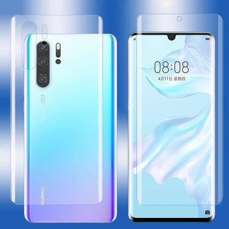 Huawei P30 PRO MATE 20 PRO P40 PRO Folie Silicon Curbata Fata Spate