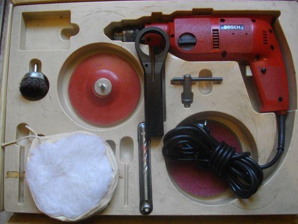 Ударна Оригинална Bosch-Switzerland-380 Вата-Бормашина-Дрелка-Комплект