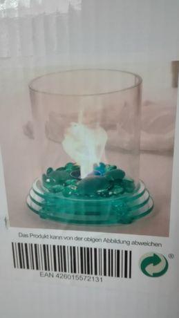 Стъклена биокамина