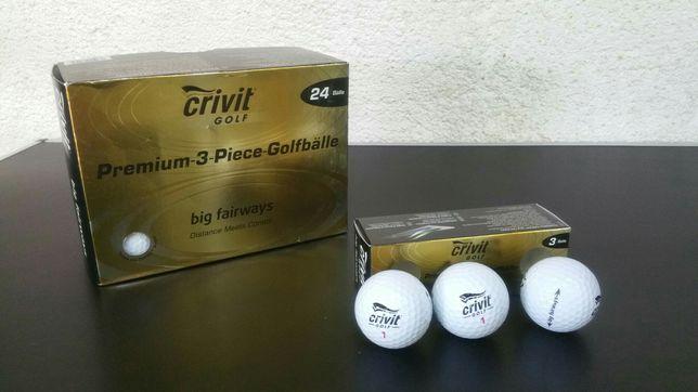 Set- 24 buc - mingi - golf - premium - crivit - big fairways - noi