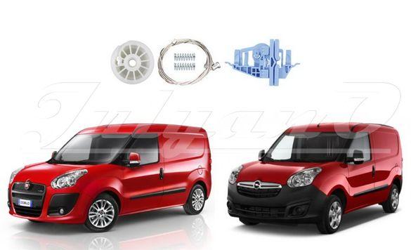 Ремонтен комплект за ел. машинка за стъкло за FIAT DOBLO - OPEL COMBO