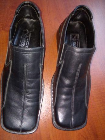 Кожени обувки LANDERJACK