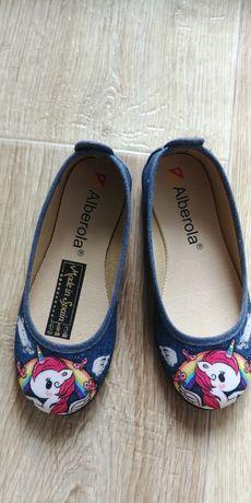 Балетки обувь детская на девочку 28 размер новые