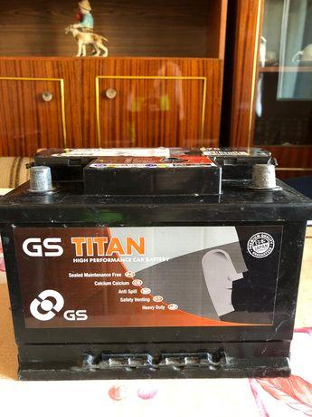 Vând baterie gel GS Titan
