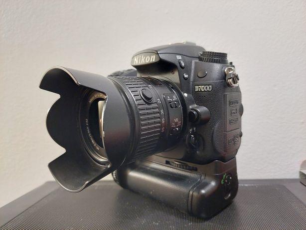 Nikon D7000 +18-55mm