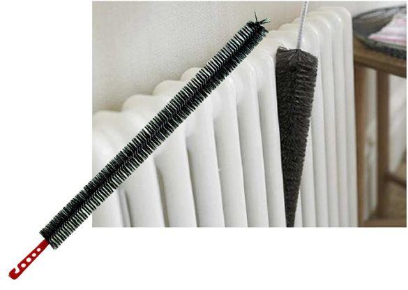 Дълга гъвкава четка за почистване на радиатор и недостъпни места