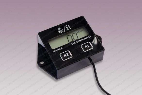 ANIMABG Тахометър мото часовник (Оборотомер)