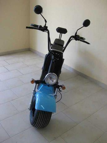Електрически мотопед/скутер/чопър 1500 w/цвят син