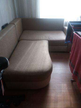 Срочно!!!Угловой раздвижной диван
