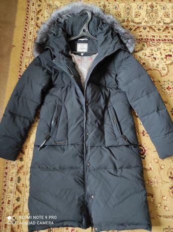 Продам зимнюю куртку, новую, производство фабричный Пекин внутри пух,