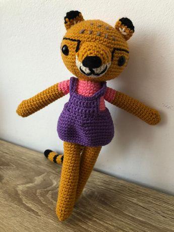 Jucărie croșetată - ghepard