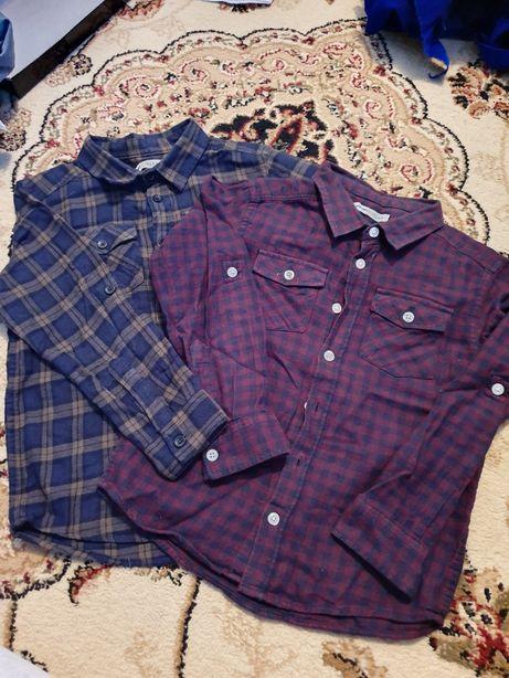 Рубашки на 5-6 лет