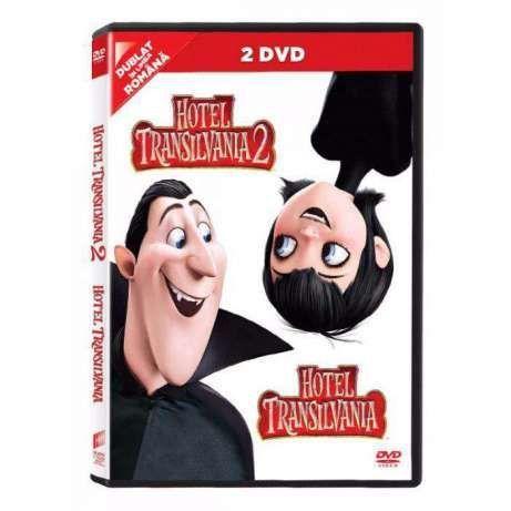 HOTEL TRANSYLVANIA 1+2 - DVD desene animate dublate romana