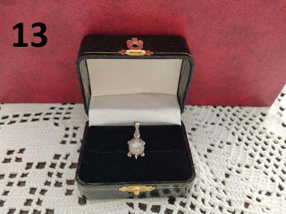 Лот 2 - дамски сребърни накити