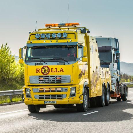 tractari camioane A1 deva-sibiu 24/24