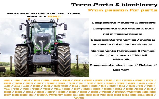 Piese Tractoare Agricole Fendt