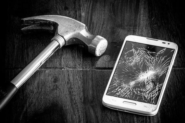 Ремонт телефонов алматы замена стекал дисплея /samsung/iphone/huawei