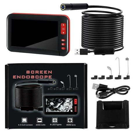 Эндоскоп F200 с 4,3-дюймовым экраном