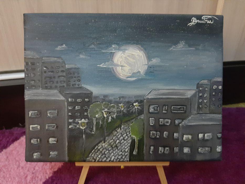Tablou pictură În noapte