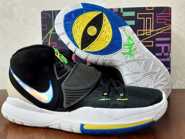 "Nike Kyrie 6 ""Black-Neon"". Баскетбольные кроссовки"