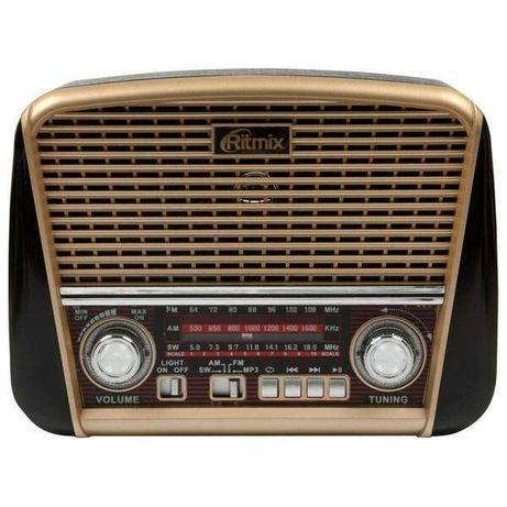 Портативный радиоприемник RITMIX RPR-050  (USB MP3, AUX, фонарик)