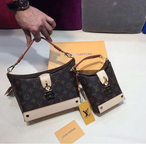 Louis Vuitton/piele naturală nu ecologică!bon fiscal/certificat autenc