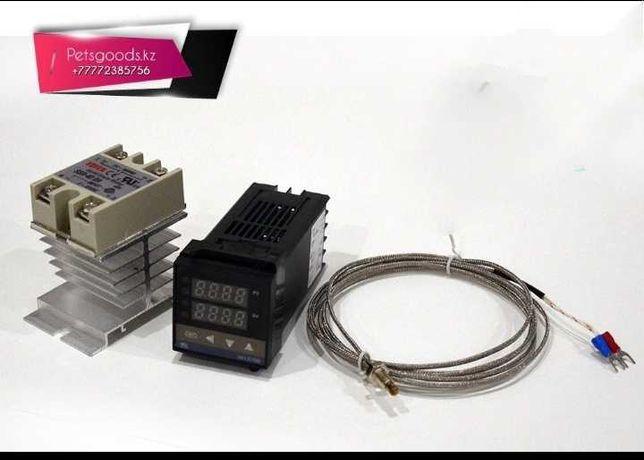 ПИД терморегулятор REX C100 (выход SSR твердотельное реле)