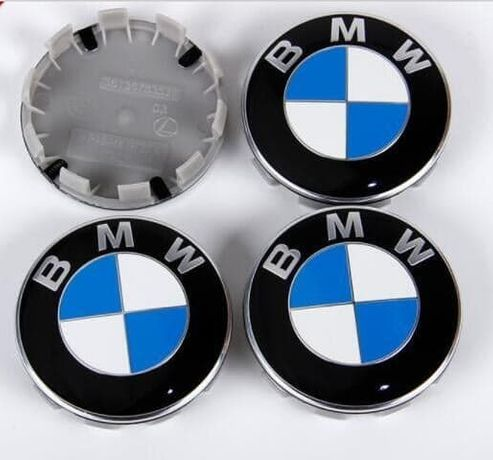 Set 4 Capace bmw 68mm pentru jante originale BMW
