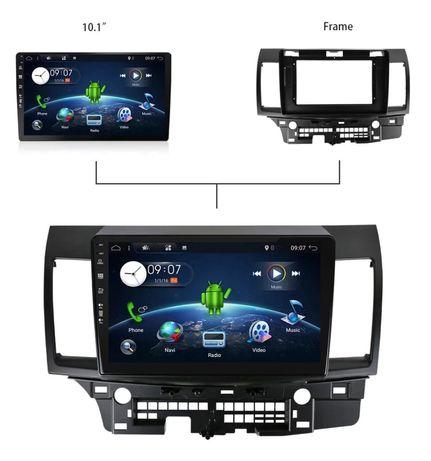 Navigatie cu android 10 Mitsubishi Lancer
