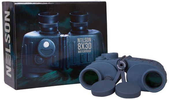 72108 Бинокъл Levenhuk Nelson 8x30
