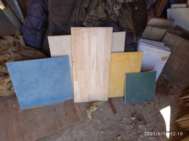 Плитка облиц.керам.бу разного размера и цвета, продам за 5000тенге