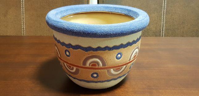 Ghiveci masca ceramica decorativa