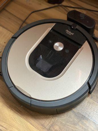 Робот прахосмукачка iRobot Roomba 966 iAdapt 2.0, WiFi, Навигация iAda