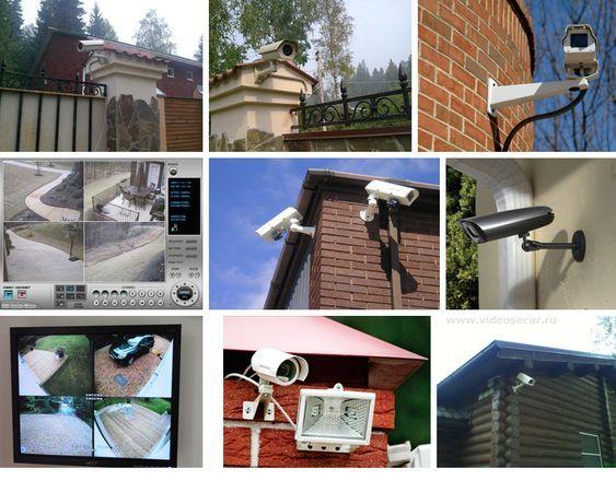 Установка систем видео наблюдения и сигнализации, охранная, пожарная,