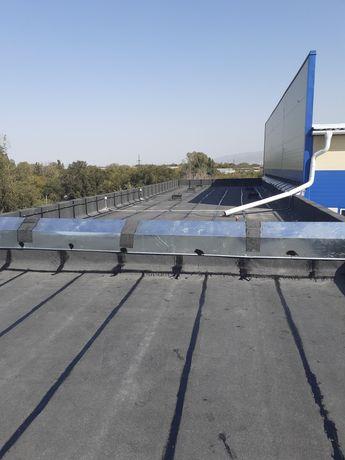 Ремонт крыши  мягкая жёсткая крыша