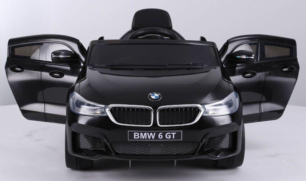 Masinuta electrica Bmw Seria 6 GT 60W 12V STANDARD #Negru Piatra Neamt - imagine 1
