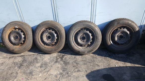 Нови гуми 155 80 13 с джанти опел