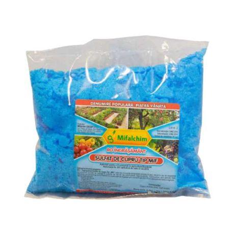 Sulfat de cupru, piatra vanata stropire pomi fructiferi, vita de vie