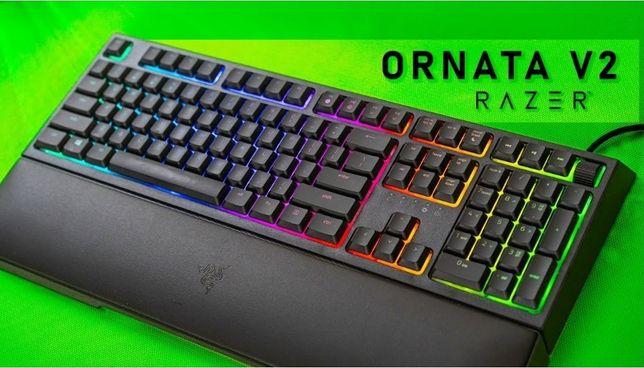 Tastatura Gaming Razer Ornata V2 Chroma Semi-mecanica Noua garantie