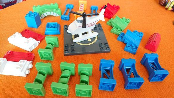 12Хеликоптера Харолд + нестандартни части, съвместими с Лего Дупло