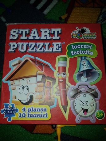"Noriel Start Puzzle ""Obiecte"" (8 in 1)"