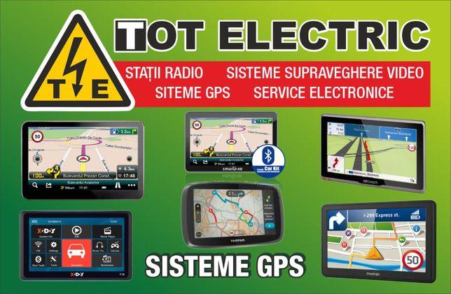 Instalarei harti GPS-full europa,camion si auto- sisteme navigatie
