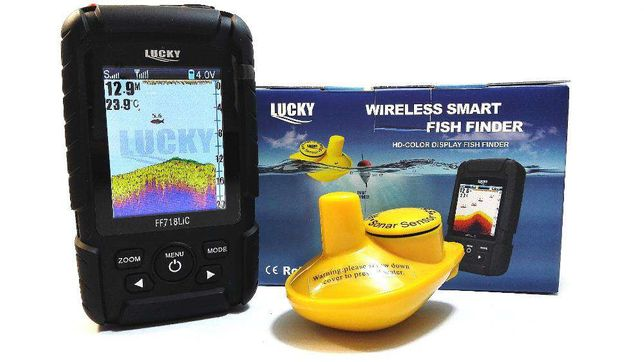 5031 NEW MODEL Waterpoof Wireless Fishfinder Fish finder FULL COLOR