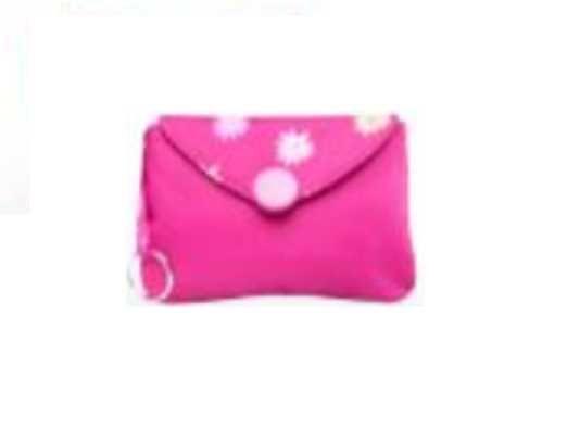 Portofel pentru fete Flower Power Girls roz cu floricele