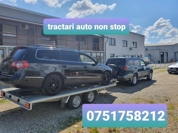 Tractari auto/utilaje  non stop