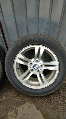 Jante de aliaj originale BMW X3 pe 17 țoli cu anvelope iarna 235/55/17