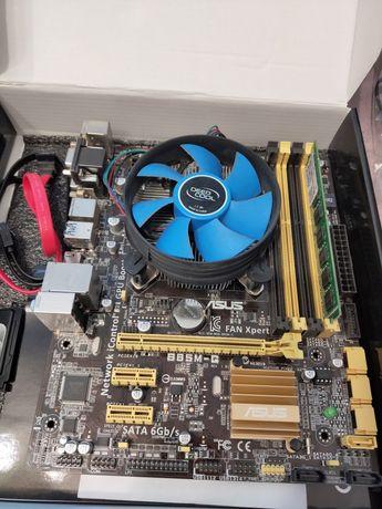 Intel Core i5 - 4460 (3200MHz, LGA1150), Asus B85M-G