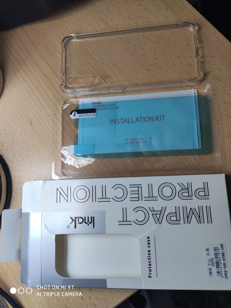 Husă plus folie pentru Xiaomi mi a3