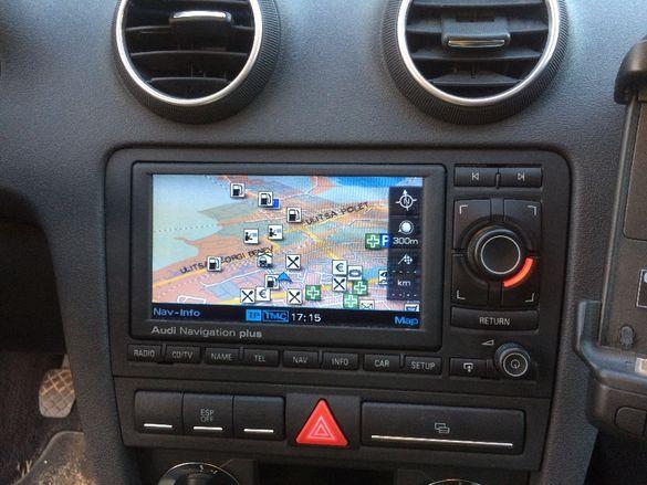Навигационен Диск AUDI версия 2020год АУДИ навигационни карти