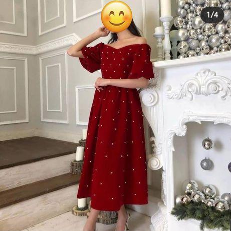 Продам шикарное платье 46 размера